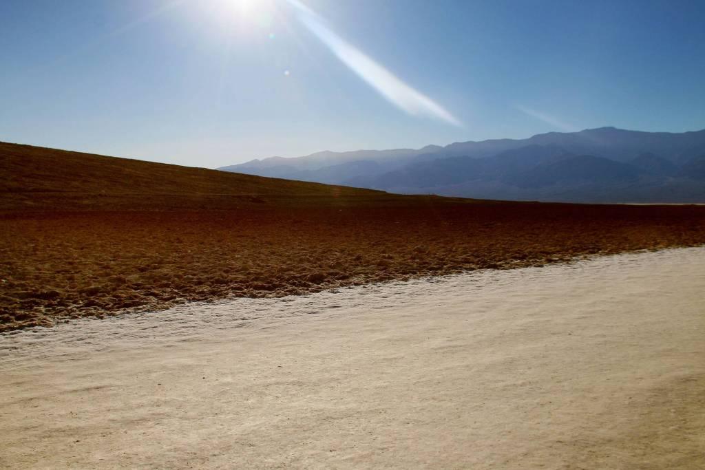 Badwater Salt Flats Basin
