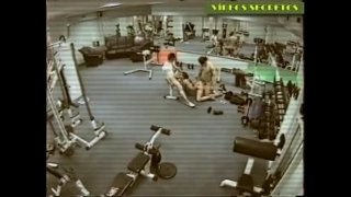 Hidden Cam In A Gym Filming A Couple Taking Advantage Of The Empty Gym