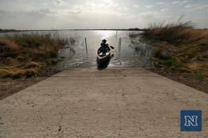 Canoe ride into the marsh.