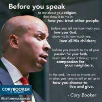 We are not all children of God: Cory Booker and the plot to eliminate preaching on sin
