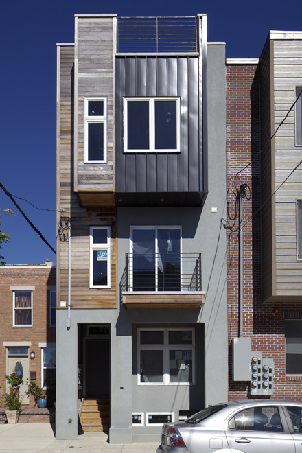 Field Guide To New Row House Construction Part Four