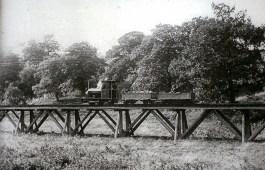 Supply train at Breary Banks