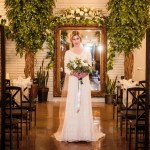 wedding reception in utah with utah bride