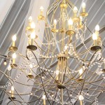 elegant lighting for wedding reception center