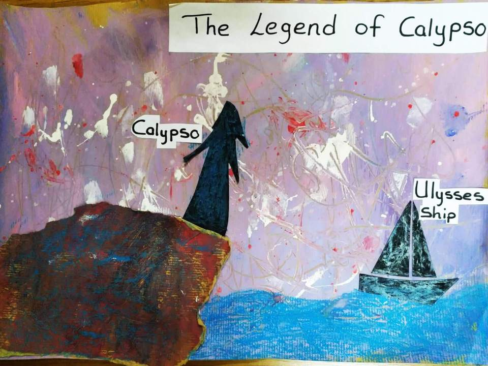 Malta:Legend - Calypso Cave in Gozo