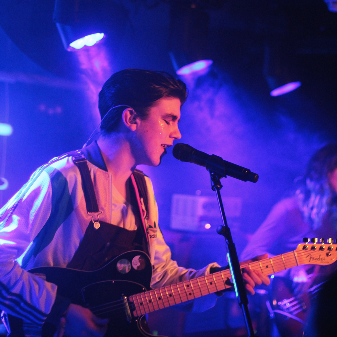 Declan McKenna playing Patterns in Brighton on 31.01.17