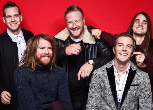 Photo of The Maine featured on Hidden Herd new music blog