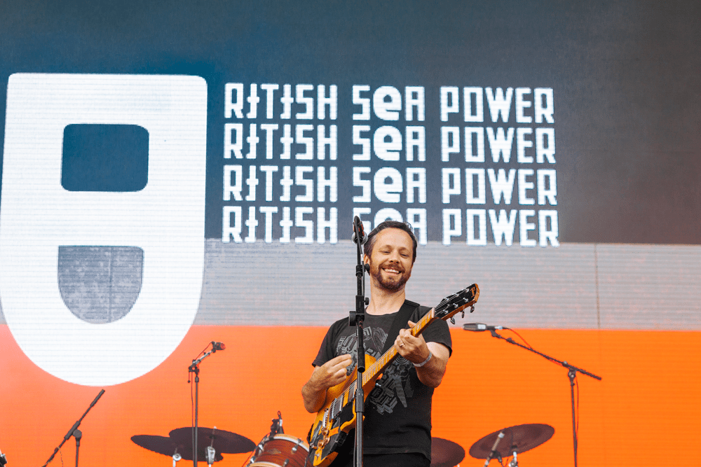 British Sea Power playing Victorious Festival in Southsea on 25.08.17
