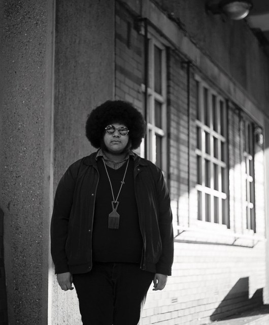 Photo of Dylan Cartlidge featured on Hidden Herd new music blog