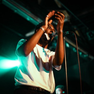 Photo of Samm Henshaw at The Great Escape Festival 2018 featured on Hidden Herd new music blog