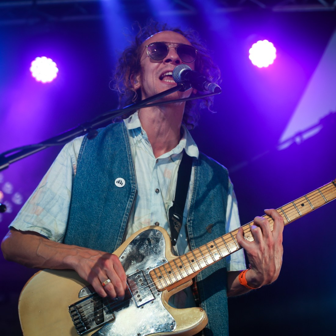 Photo of Mystery Jets featured on Hidden Herd new music blog