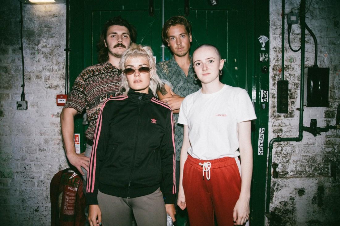 Photo of Drip Gloss featured on Hidden Herd new music blog