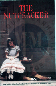 Playbill from The Nutcracker performed by the New York City Ballet at New York State Theatre between November 30-December 31, 1989.