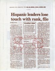San Antonio Express Article- December 30, 1984