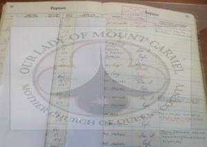 Baptism Register Book