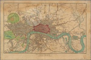 A map of London from 1815.