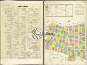 insurance maps of the borough of queens, vol 2, 1915 - index