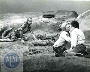 Image of a scene from Edward Albee's Seascape