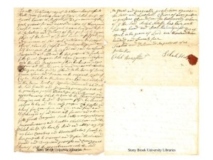 Selah Hulse Land Deed to Benjamin Flyde. Two page deed written in 1775.