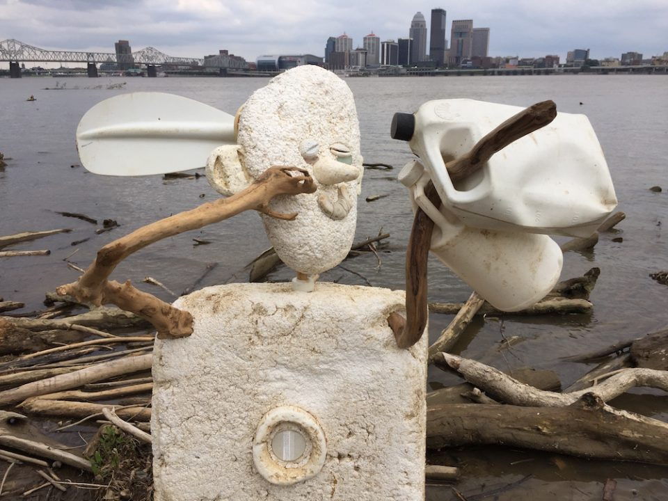 From Buffalo to Bottles – Art at the Falls of the Ohio