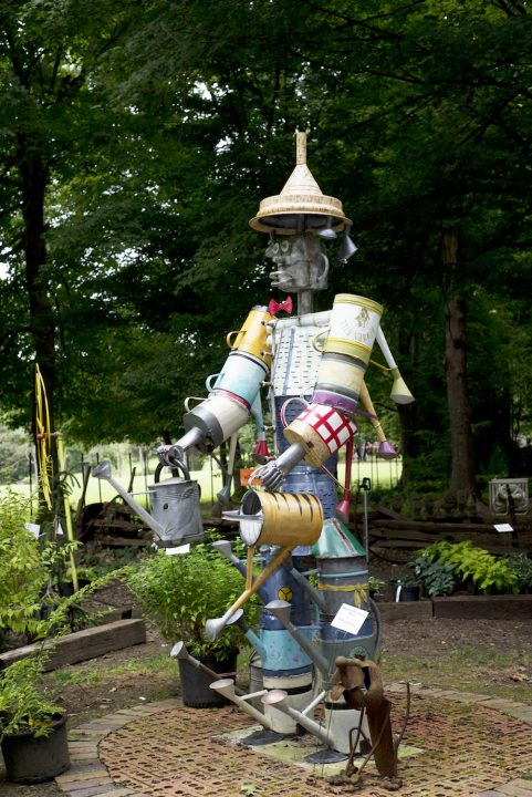 Watering Can Tin Man
