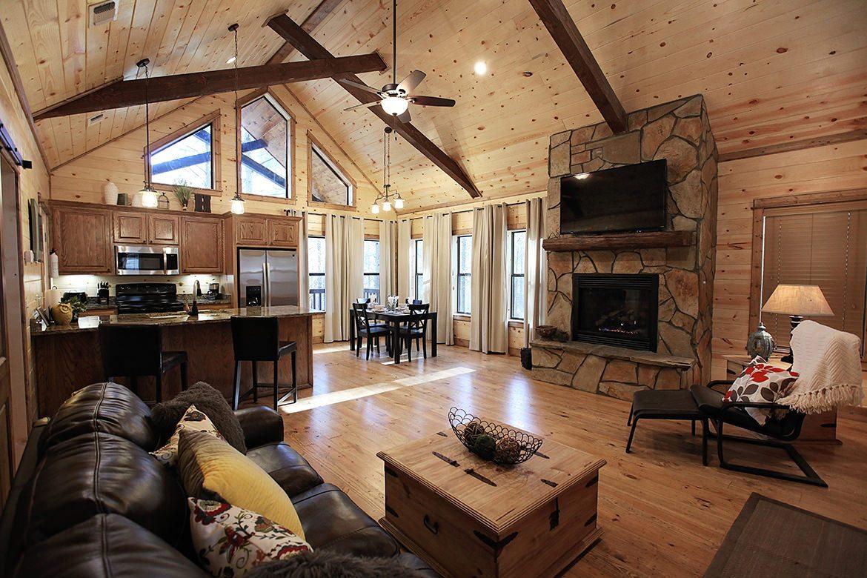Hillside Paradise Cabin in Broken Bow OK  Sleeps 2  Hidden Hills Cabins