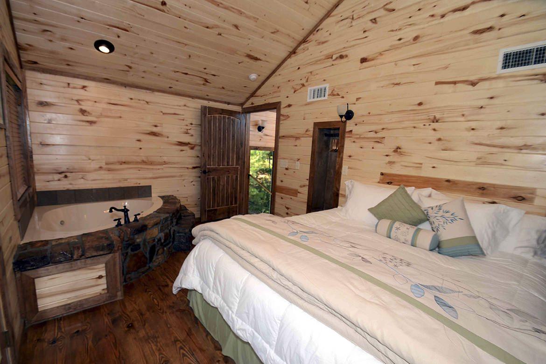 Antlers Crossing Cabin in Broken Bow OK  Sleeps 2  Hidden Hills Cabins