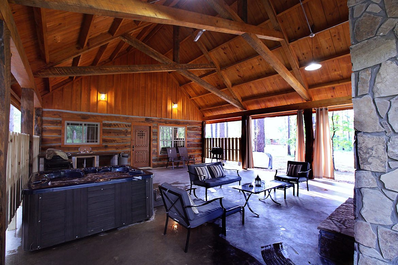 Blue Moon Cabin in Broken Bow OK  Sleeps 2  Hidden