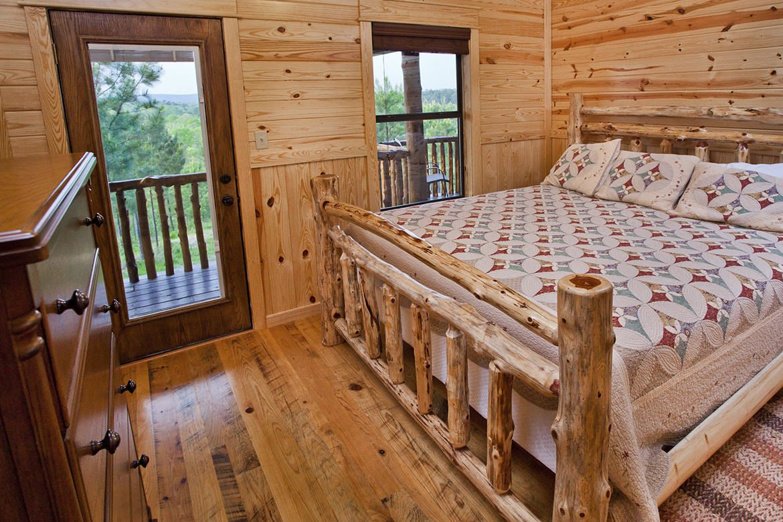 Gallo Del Cielo Cabin In Broken Bow OK Sleeps 8 Hidden Hills Cabins