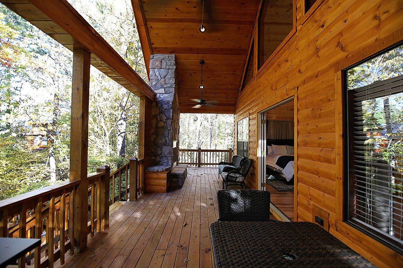 The Oasis Cabin in Broken Bow OK  Sleeps 2  Hidden Hills Cabins