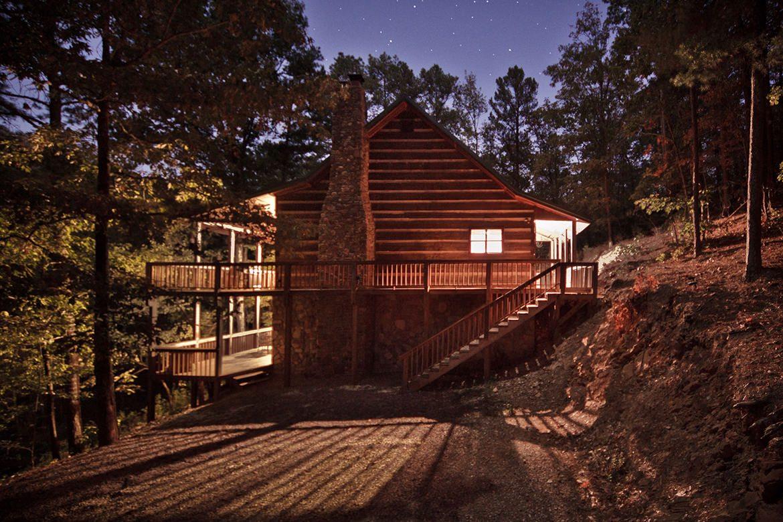 Stevens Springs Cabin in Broken Bow OK  Sleeps 11