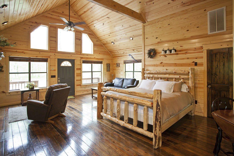 Summer Brook Cabin in Broken Bow OK  Studio Sleeps 2