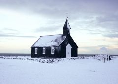 Búðakirkja black church | Hidden Iceland | Photo by Scott Drummond