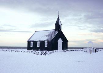 Búðakirkja black church   Hidden Iceland   Photo by Scott Drummond