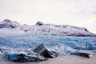 Svínafellsjökull Lookout in Winter | Hidden Iceland