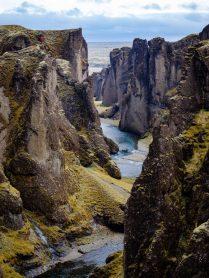 Fjaðrárgljúfur Gorge