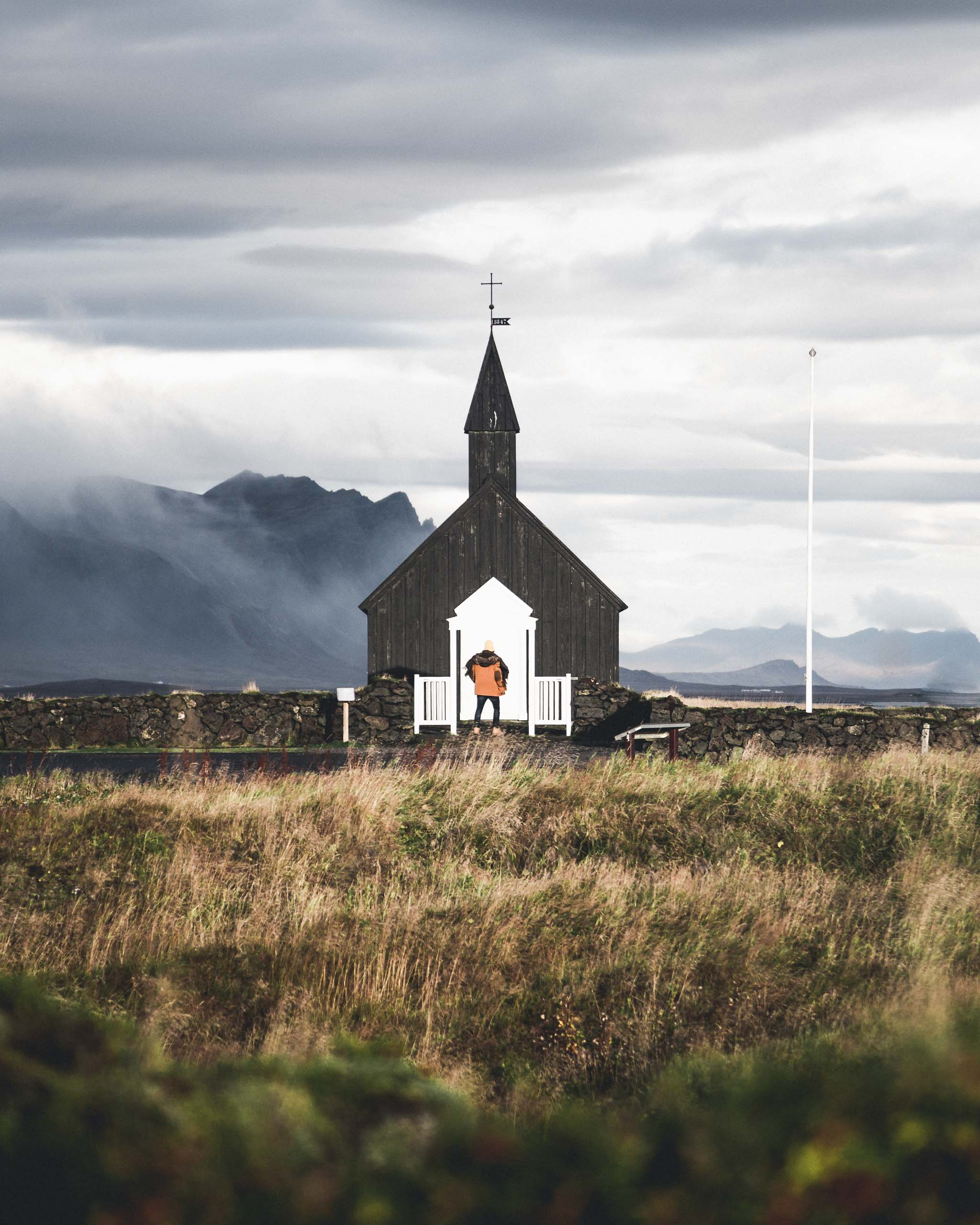Búðakirkja Black Church | Hidden Iceland | Photo by Norris Niman