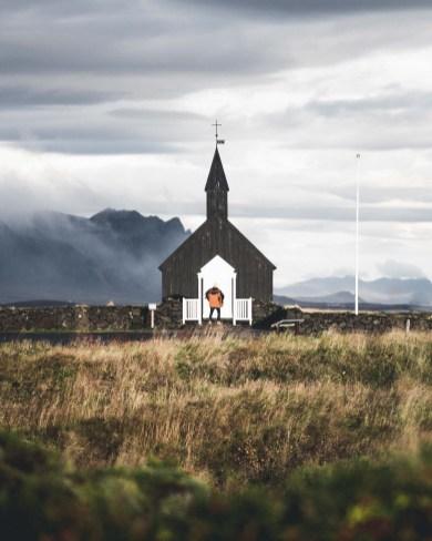 Búðakirkja Black Church in the Snæfellsnes Peninsula | Hidden Iceland | Photo by Norris Niman
