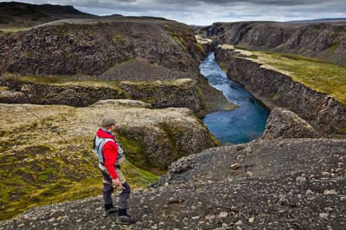 Fishing Highlands river Fly Fishing Tour | Hidden Iceland