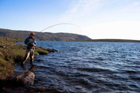 Mountain Fishing Lake | Fly Fishing Tour | Hidden Iceland