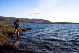 Mountain Fishing Lake | Hidden Iceland