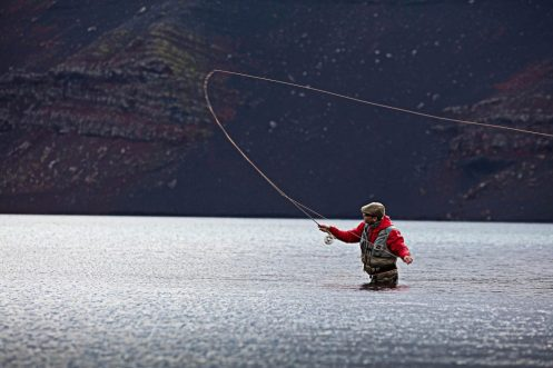 Volcano Lake Fishing | Fly Fishing Tour | Hidden Iceland