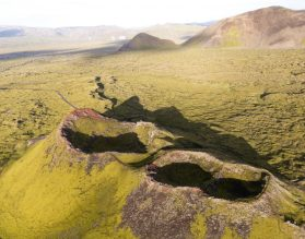 Craters from Above | Helicopter Tours | Hidden Iceland