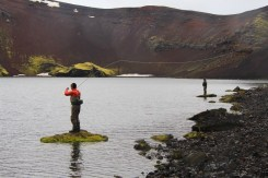 Volcano Lake Fishermen | Fly Fishing Tour | Hidden Iceland