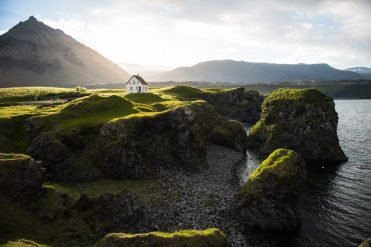 Arnastapi In The Midnight Sun   Hidden Iceland   Photo by Tom Archer