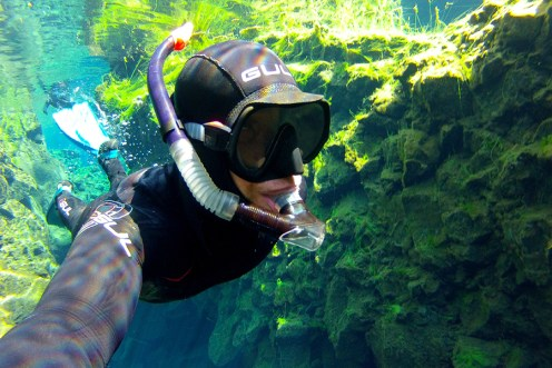 Snorkel Silfra in a Wetsuit tour | Hidden Iceland