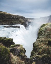 Gullfoss waterfall canyon | Golden Circle: Platinum Tour | Hidden Iceland | Photo by Norris Niman * Featured