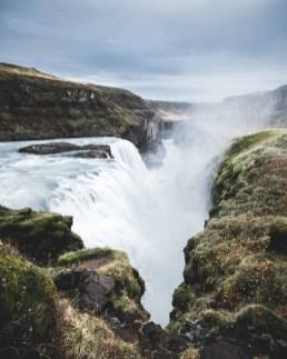 Golden Hour over Gullfoss waterfall | Golden Circle: Platinum Tour | Hidden Iceland | Photo by Norris Niman * Featured
