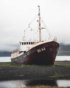 Abandoned Westfjords Ship | Hidden Iceland | Photo by Norris Niman