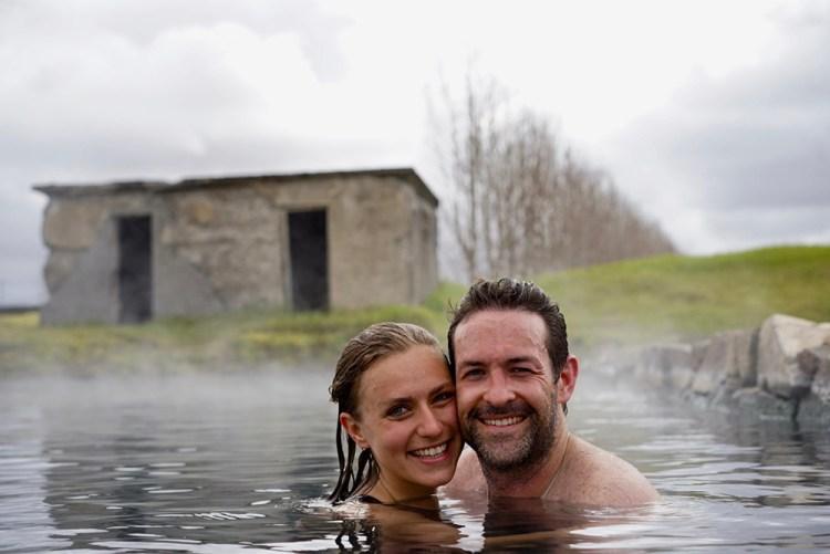 Secret Lagoon Geothermal Hot Pool | Golden Circle: Platinum tour | Hidden Iceland | Photo by Lucas Peters